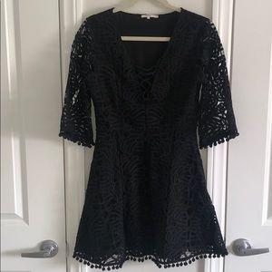 Tularosa Coal Lace dress